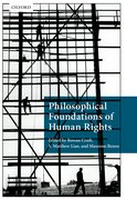 Cover for Philosophical Foundations of Human Rights