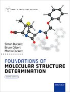 Cover for Foundations of Molecular Structure Determination