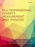 Cover for Multidimensional Poverty Measurement and Analysis