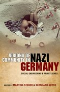 Cover for Visions of Community in Nazi Germany