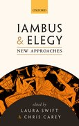 Cover for Iambus and Elegy