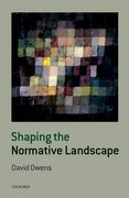 Cover for Shaping the Normative Landscape