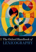 Cover for The Oxford Handbook of Lexicography