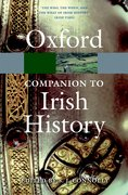 Cover for The Oxford Companion to Irish History