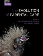 Cover for The Evolution of Parental Care