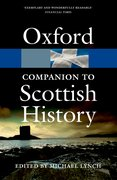 Cover for The Oxford Companion to Scottish History