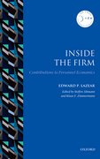 Cover for Inside the Firm