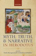 Cover for Myth, Truth, and Narrative in Herodotus
