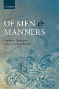 Cover for Of Men and Manners