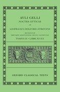 Cover for Aulus Gellius: Attic Nights, Books 11-20 (<i>Auli Gelli Noctes Atticae: Libri XI-XX</i>)