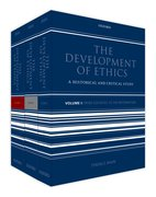 Cover for The Development of Ethics