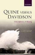 Cover for Quine versus Davidson