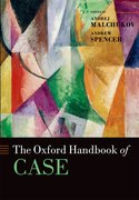 Cover for The Oxford Handbook of Case
