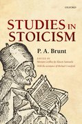 Cover for Studies in Stoicism