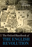 Cover for The Oxford Handbook of the English Revolution