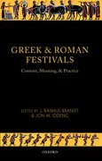 Cover for Greek and Roman Festivals