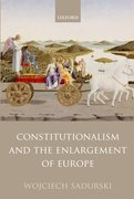 Cover for Constitutionalism and the Enlargement of Europe