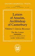 Cover for Letters of Anselm, Archbishop of Canterbury