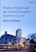 Cover for Human Rights and the United Kingdom Supreme Court