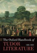 Cover for The Oxford Handbook of Tudor Literature