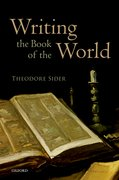 Cover for Writing the Book of the World