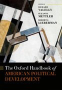 Cover for The Oxford Handbook of American Political Development