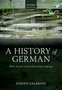 Cover for A History of German