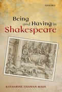 Cover for Being and Having in Shakespeare