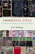 Cover for Aboriginal Title