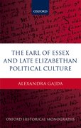 Cover for The Earl of Essex and Late Elizabethan Political Culture