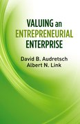 Cover for Valuing an Entrepreneurial Enterprise
