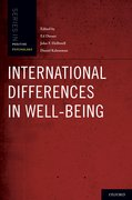 Cover for International Differences in Well-Being