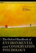 Cover for The Oxford Handbook of Environmental and Conservation Psychology