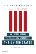 Cover for An Introduction to the Legal System of the United States, Fourth Edition