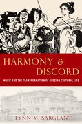 Cover for Harmony and Discord