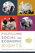 Cover for Fulfilling Social and Economic Rights