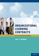 Cover for Organizational Learning Contracts