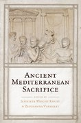 Cover for Ancient Mediterranean Sacrifice