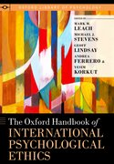 Cover for The Oxford Handbook of International Psychological Ethics
