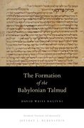 Cover for The Formation of the Babylonian Talmud