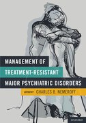 Cover for Management of Treatment-Resistant Major Psychiatric Disorders