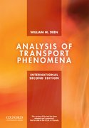 Cover for Analysis of Transport Phenomena