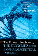Cover for The Oxford Handbook of the Economics of the Biopharmaceutical Industry