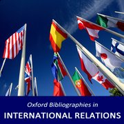 Cover for Oxford Bibliographies in International Relations