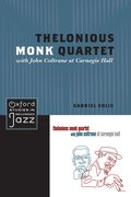 Cover for Thelonious Monk Quartet with John Coltrane at Carnegie Hall