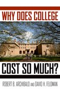 Cover for Why Does College Cost So Much?