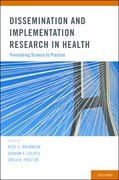 Cover for Dissemination and Implementation Research in Health