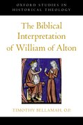 Cover for The Biblical Interpretation of William of Alton
