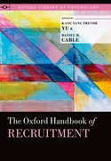 Cover for The Oxford Handbook of Recruitment
