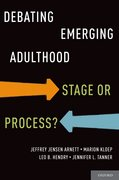 Cover for Debating Emerging Adulthood